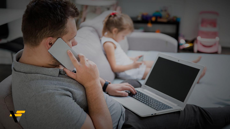Home office e filhos – como lidar sem perder o foco